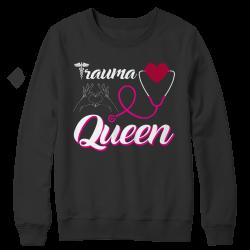 Trauma Queen Nurse -Long Sleeve Top