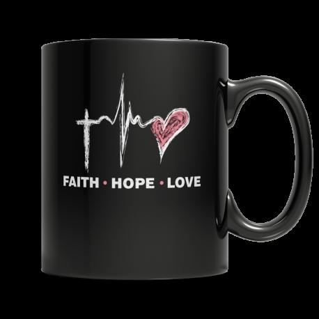 Faith Hope Love - Mug