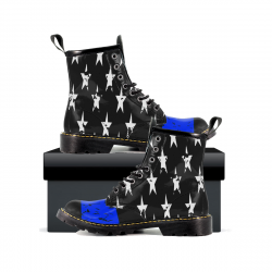 Thin Blue Line - Womens Leather Boots