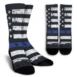 Thin Blue Line Socks