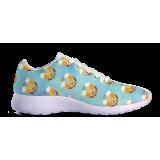 Beer & Pretzel Pattern - Kids Sneakers