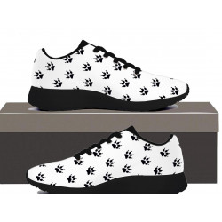 Cat Paw Print  - Mens Sneakers