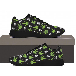 Weed Pattern - Womens Sneakers