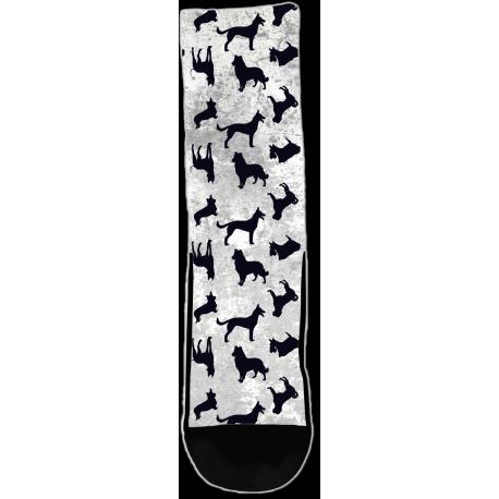 Dogs Silhouette - Socks