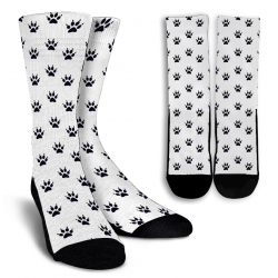 Cat Paw Print  - Socks