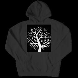 Black & White Tree- Youth Hoodie
