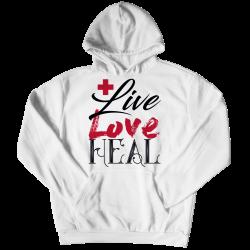 Live Love Heal Nurse - Hoodie