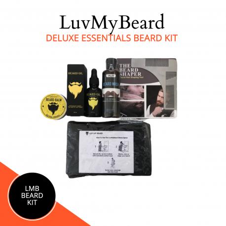 Deluxe Essential Beard Kit