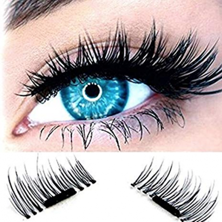 Magnetic Eyelashes for piercing Eyes (4 pieces)