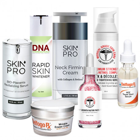 Ultimate Super Anti-Aging Face and Neck Boost ( 7 Products Face and Neck Set)