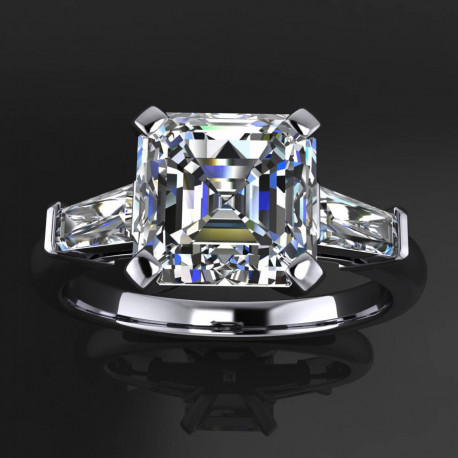 Alexia Ring | Asscher Cut