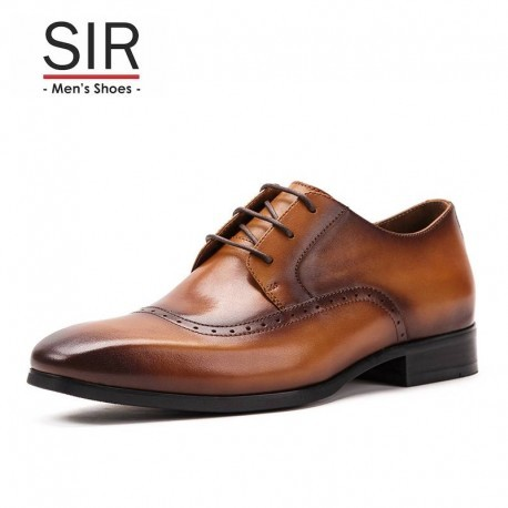 Robert - Lace Up  - Brogue