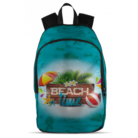 Beach Time All-Over-Print Backpack
