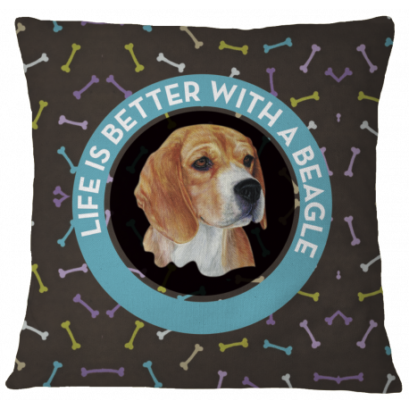 Beagle Pillow Case Cover