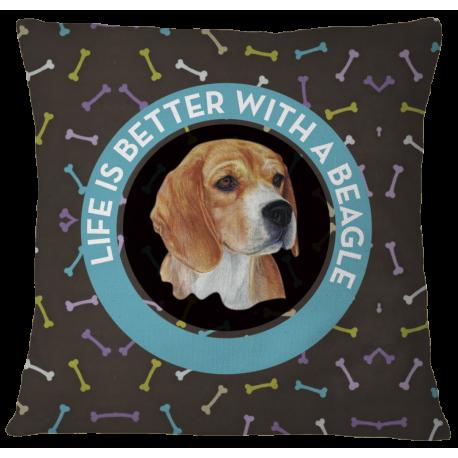 Beagle Pillow Case Cover