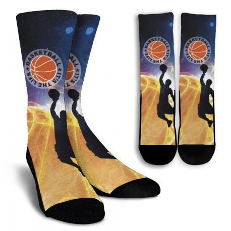 Basketball Crew Socks