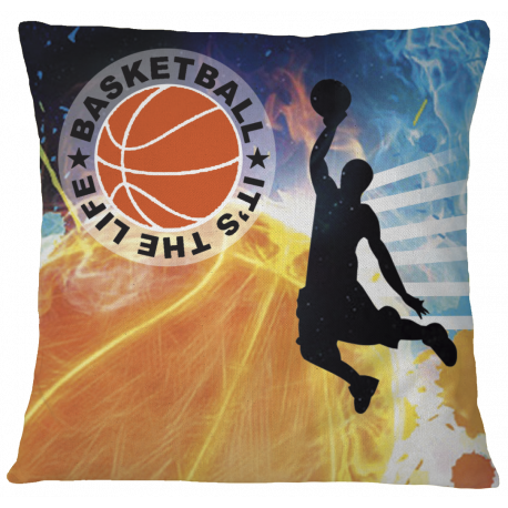 Basketball Pillow Case Cover