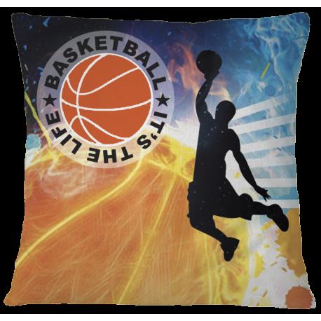 Basketball Pillow Case Cover