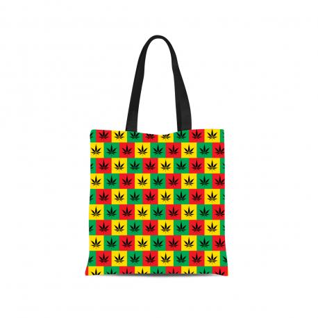 Rasta Style Canvas Tote Bag
