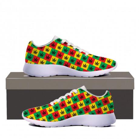 Rasta Style Sneakers