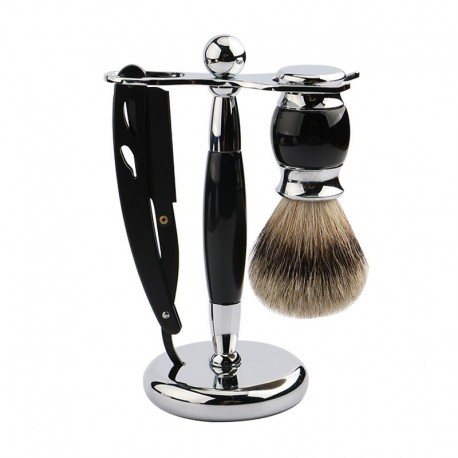 Razor Stand for Shaving Brush and Razor