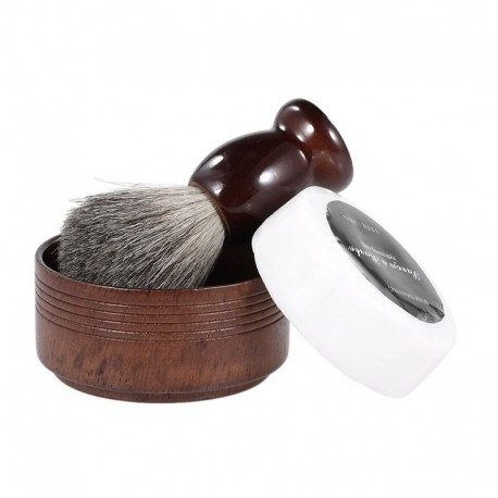Beautiful Shaving Set with Brush, Bowl and Soap