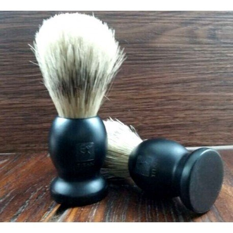 Shaving Brush with Bristle Hair and Wooden Handle