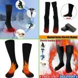 Calcetines eléctricos con calefacción calcetines con batería calcetines recargables Hombres Damas Invierno térmico