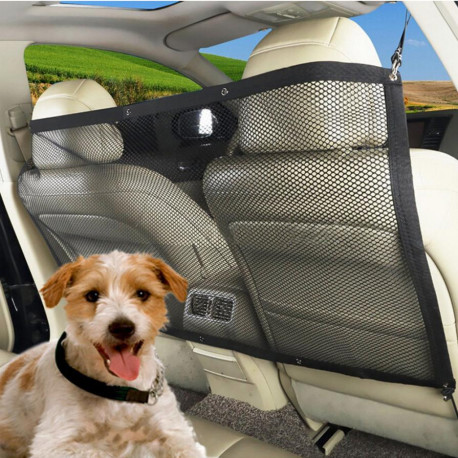 Dog Safety Mesh For Cars.   Universal Fit For All Cars, Vans, and SUVs.
