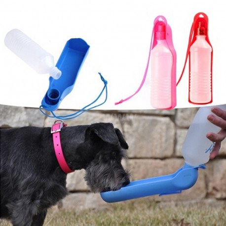 BPA-Free Portable Dog Bowl / Water Bottle for Travelling