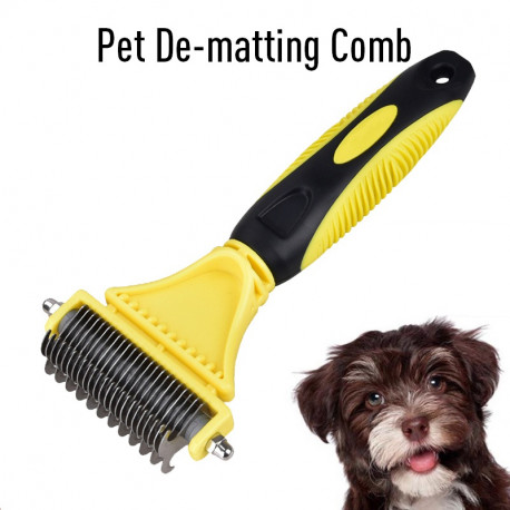 POOCH-PRO Pet Comb, Trimmer and Grooming Rake For Dogs