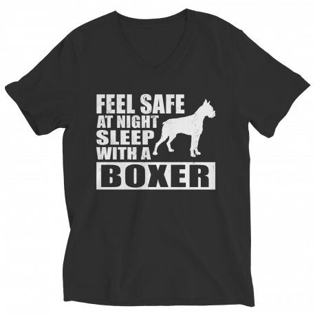 Limited Edition T-Shirt or Hoodie - Feel safe at night. Sleep with a boxer
