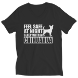 Limited Edition Shirt/Hoodie - Feel safe at night. Sleep with a Chihuahua.
