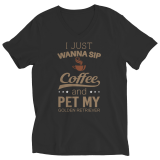 Limited Edition Shirt/Hoodie - I Just Wanna Sip Coffee and Pet My Golden Retriever