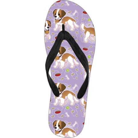 Cute Dog Flip Flops