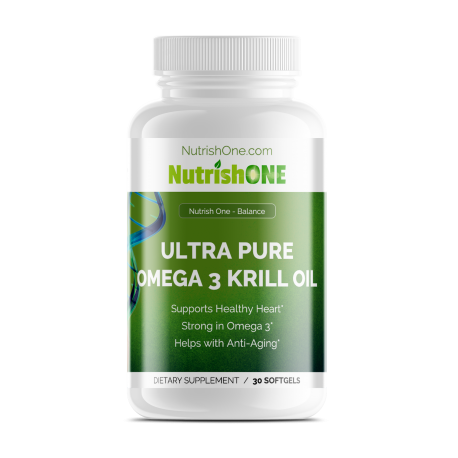 Ultra Pure Omega 3 Krill Oil With Astaxanthin