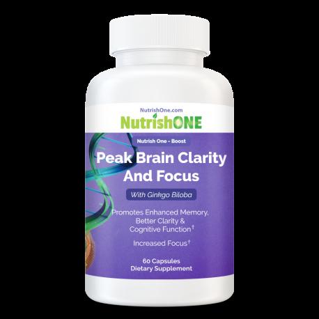 Peak Brain Clarity And Focus