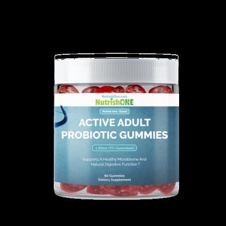 Active Adult Probiotic Gummies
