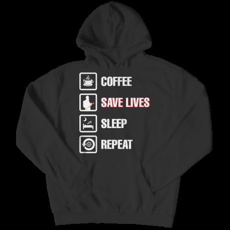 Coffee Save Lives Sleep Repeat