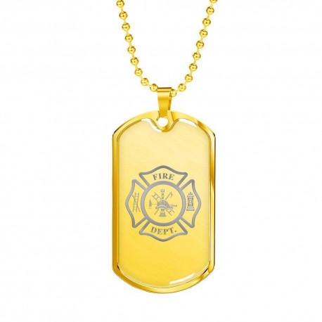Firefighter Logo - Gold
