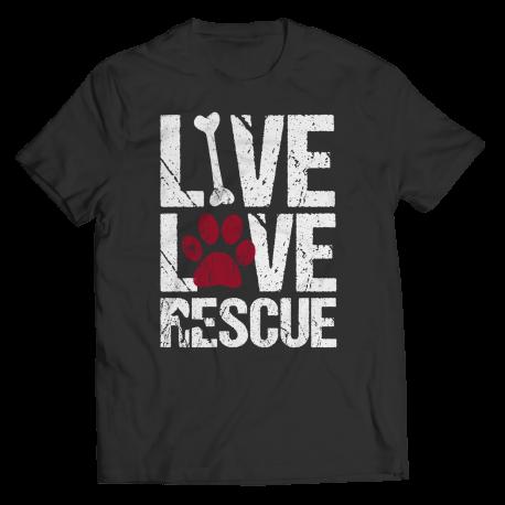 Live Love Rescue Dog
