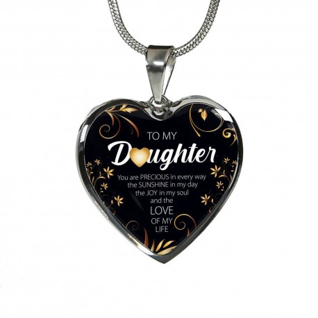 To My Daughter, You Are Precious - Stainless Heart