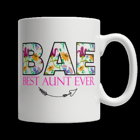 BAE Best Aunt Ever - White Mug