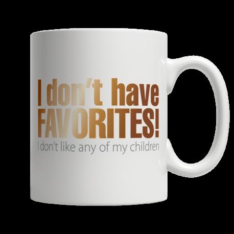 I Don't Have Favorites