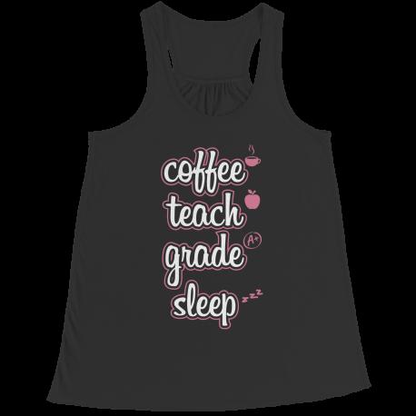 Coffee Teach Grade Sleep