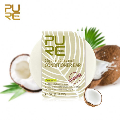 Handmade Coconut Shampoo Bar