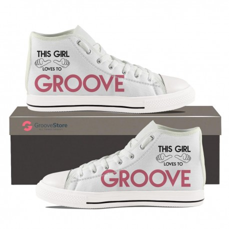 This Girl Loves To Groove Hightop