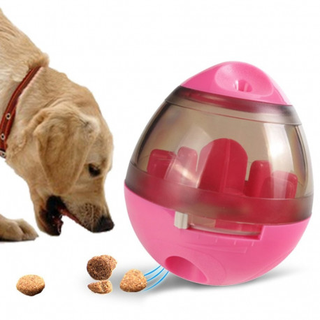 Interactive Dog Treat Ball Toy