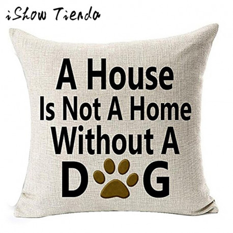 House is Not a Home Dog Pillowcase
