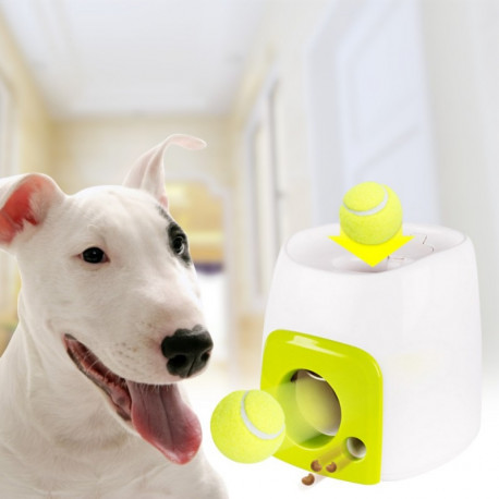 Tennis Ball & Treat Launcher for Dogs